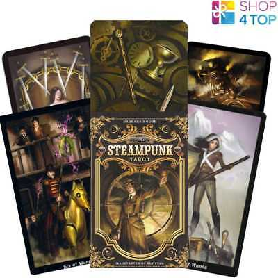 The Steampunk Tarot Cards Deck Esoteric Telling Barbara Moore Llewellyn New