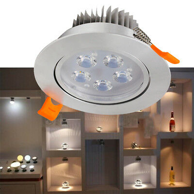 Useful Recessed LED Ceiling Downlight Home Indoor Spot Light LED Light 3/5/7/12W