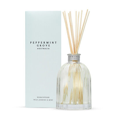 NEW Peppermint Grove Wild Jasmine & Mint Diffuser 350ml