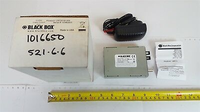 Black Box LCM211A-MM Ethernet 802.3 Fibre to Coax Converter FlexPoint 10FL/2 New