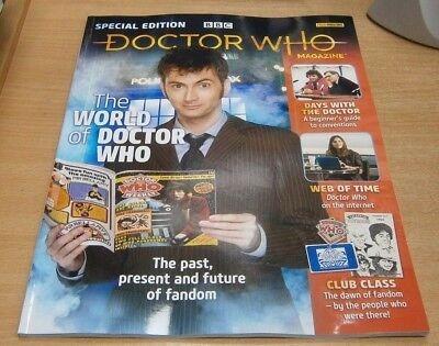 BBC Doctor Who Magazine Special Edition #50 World of Doctor Who past present &