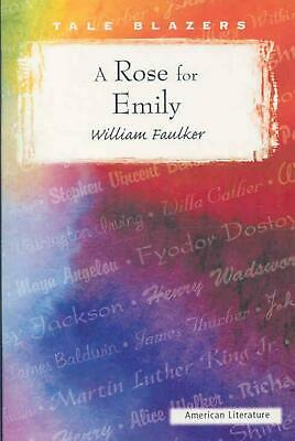 A Rose for Emily by William Faulkner (English) Paperback Book Free Shipping!