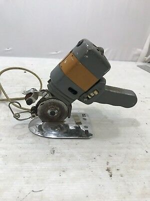 Vintage Electric Rotary Handheld Fabric Cloth Cutter