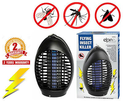 Powerful Electric UV Bug Zapper Fly Wasp Killer Insect Zap Pest Control Trap