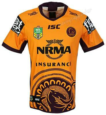Brisbane Broncos 2018 Indigenous Jersey Adults and Kids Sizes BNWT