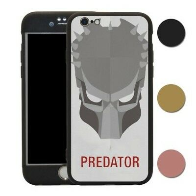 Predator Movie Poster 360° Case & Tempered Glass Cover For iPhone - T1628
