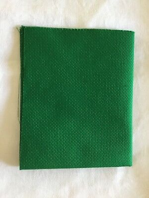 "Aida 14 count Green 13"" x10.5"""