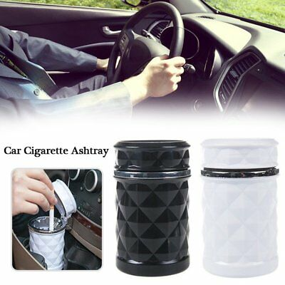 Portable Auto Car Truck LED Cigarette Smoke Ashtray Ash Cylinder Cup Holder AU
