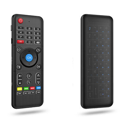 Air Mouse With Backlight Wireless Keyboard Remote Controller H1 2.4GHz New