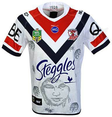 Sydney Roosters 2018 NRL Indigenous Jersey Sizes S-5XL BNWT