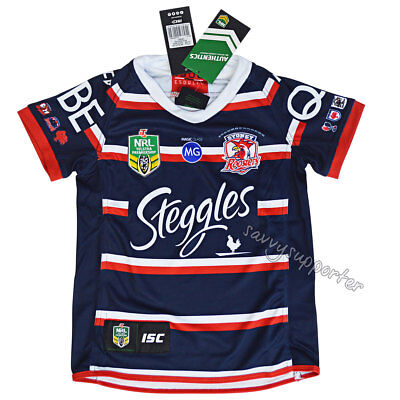Sydney Roosters 2018 NRL Kids Heritage Jersey Sizes 6-14 BNWT