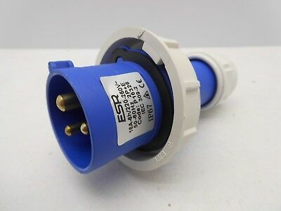 PCE 63 AMP 3P+N+E 415V IP67 Rated Trailing Plug & Socket 63A