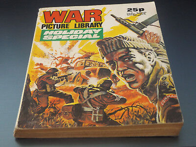 WAR PICTURE LIBRARY HOL SP!,dated 1975!,V GOOD for age,great 43!YEAR OLD issue.