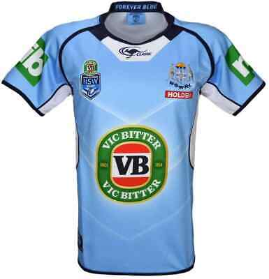 NSW Blues State of Origin 2017 Premium Jersey Mens Ladies Kids