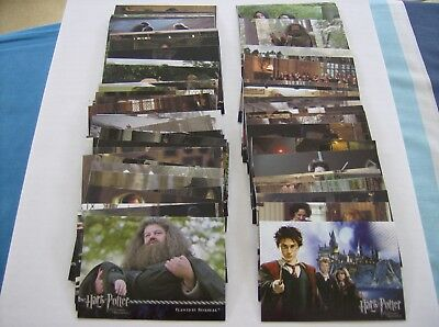 "Harry Potter And The Prisoner Of Azkaban-""72"" X Base Set Of Trading Cards."