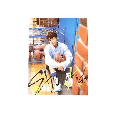 [Stray Kids]2nd mini album I am WHO Official Folded Lyrics Poster/SEUNGMIN