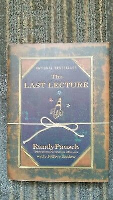 The Last Lecture by Randy Pausch (2008, Hardcover) LIKE NEW