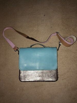 Real Leather Cross Body Bag Vintage