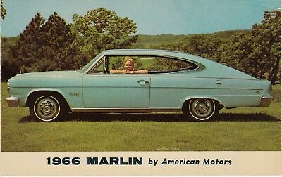 1966 Marlin American Motors, Dealership Car Ad vintage c.1966    R