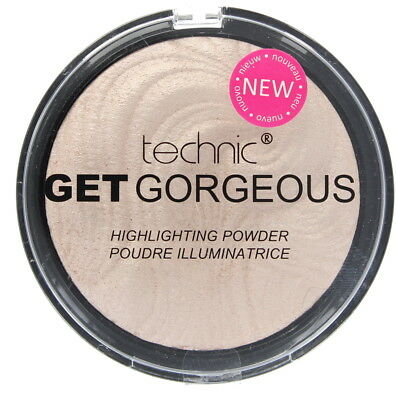 Technic Get Gorgeous Highlighting Powder Shine Control New Design 12g