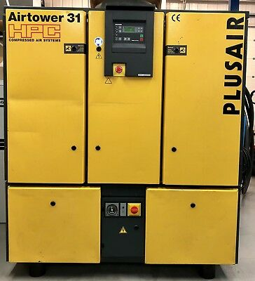 HPC / Kaeser Airtower 31 Rotary Screw Compressor With Dryer! 100Cfm! 18.5Kw!