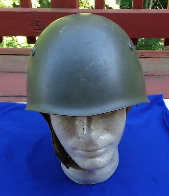 WW2 Post War vintage M33 Italian Helmet: original and complete Great Shape