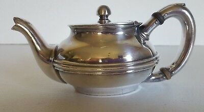 Reed & Barton US Navy Soldered Silver Tea or Water Pot 3660 144 with Lid 92