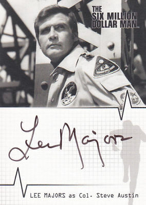Six Million Dollar Man Auto - A1 Lee Majors - Col Steve Austin VERY LIMITED