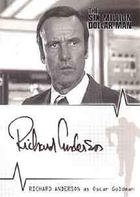 Six Million Dollar Man Auto - A02 Richard Anderson - Oscar Goldman LIMITED