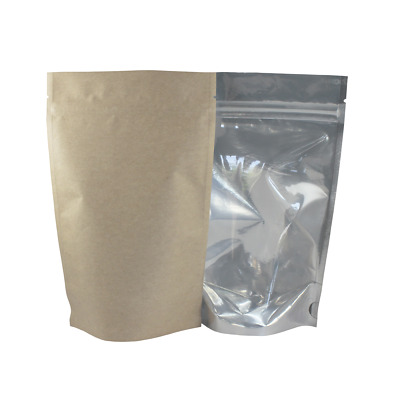 Half Ounce Barrier Bags 1/2 oz Clear Kraft Rx Food Storage Package 1000/Case