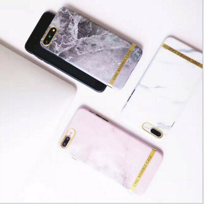 Art Glossy Granite Marble Soft TPU Phone Case Cover For iPhone 6S 7 Plus New