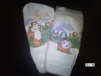 Bambo Nature Disposable Nappies - XL - Size 6 - 2 pcs (sample) eco diapers