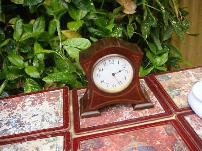 Vintage French  Platform escapement  Timepiece Mantle  Clock With Key
