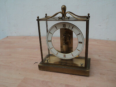 JUNGHANS ATO Electric battery clock. 1950's/60's. Good condition, But needs TLC