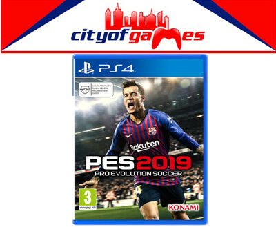 PES 2019 Pro Evolution Soccer PS4 Game Brand New In Stock