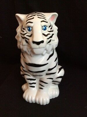 Circus White Tiger Souvenir Drinking Cup 7in  Ringling Bros Barnum and Bailey