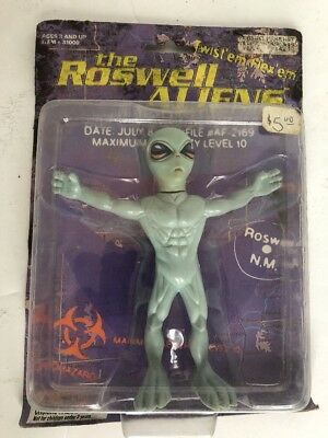 NIP ROSWELL ALIENS TOY 1996 Extra Terrestrial COLLECTIBLE FIGURINE Street Player