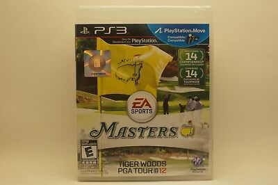 Tiger Woods PGA Tour 12 The Masters (Sony PlayStation 3, 2011)