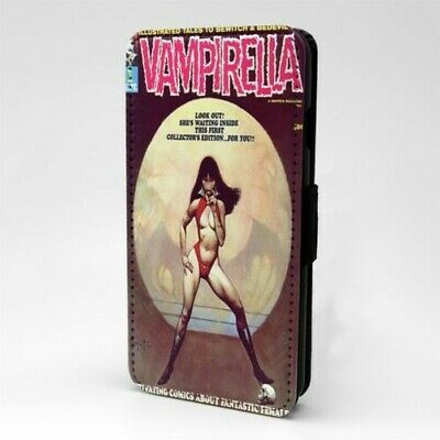 Vampirella Comic Book Flip Case Cover For Mobile Phone - A880