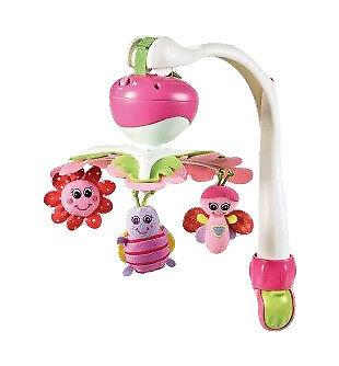 Tiny Love Take Along Mobile Princess EUC Portable Musical Butterfly