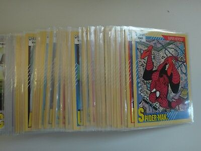 1991 Impel Marvel Universe Series 2 Trading Cards The Complete 162 card set