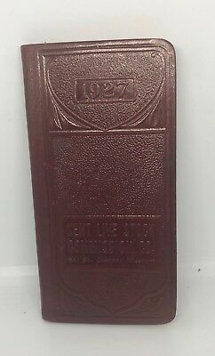 1927 Kent Live Stock Commission Co. Record Book, St. Joseph, MO