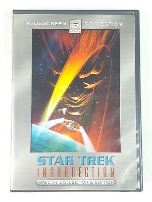 STAR TREK : Insurrection (DVD, 2005, 2-Disc Set, Special Collectors Edition)