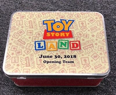 Walt Disney World Hollywood Studios Toy Story Land Opening Day Lunch Box Lanyard