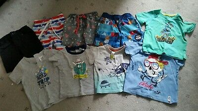 baby boys size 00 shirts / shorts bundle