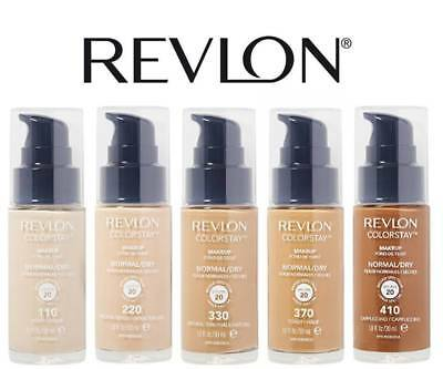 Revlon Pump Foundation Color Stay Normal / Dry Skin SPF 20 - Choose Your Shade