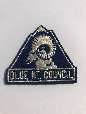 Boy Scouts 1940s BLUE MOUNTAIN COUNCIL Patch RARE WA Old Collectible BSA scout
