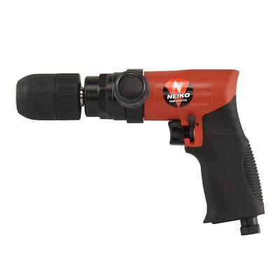 "Air Composite Reversible Drill | 1/2"" Light Weight Pneumatic W/ Keyless Chuck"
