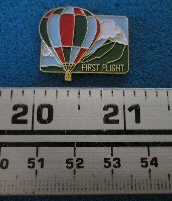 First Flight Montgolfière Hot- Air Balloon Pin # 7657