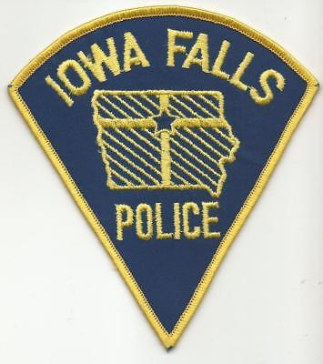 Iowa Falls IOWA IA Police patch